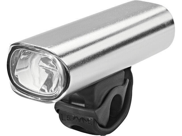 Lezyne Lite Drive Pro 115 Faretto anteriore a LED, argento/nero